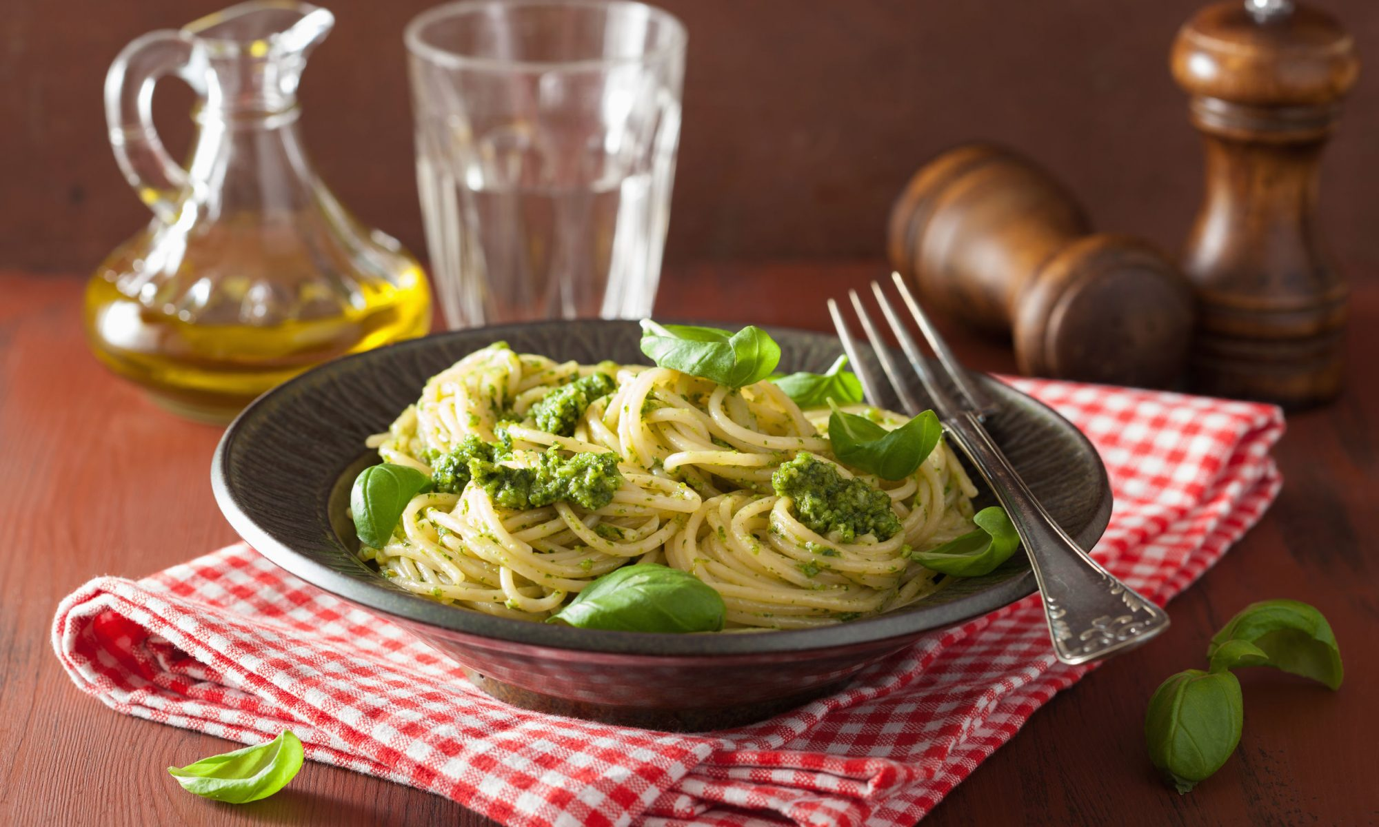 Готовим вкуснейшую пасту со шпинатом