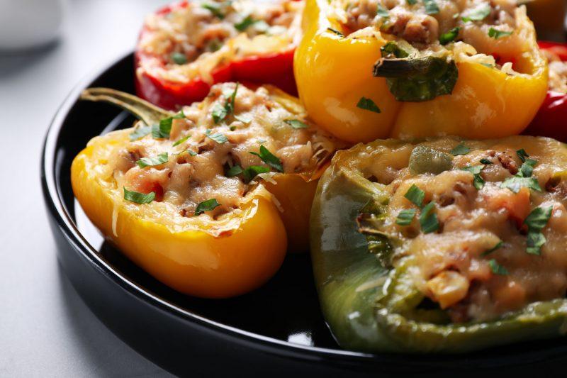 Фаршированные перцы: рецепт с оригинальной начинкой!