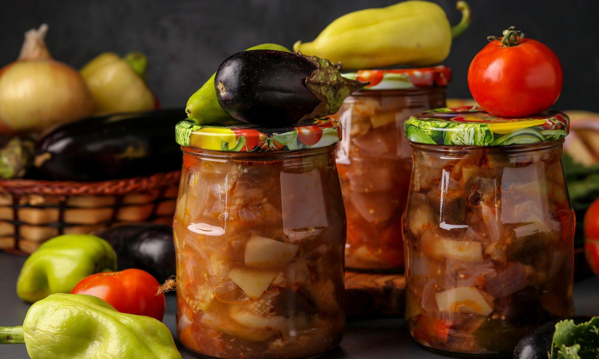 Румынская овощная закуска