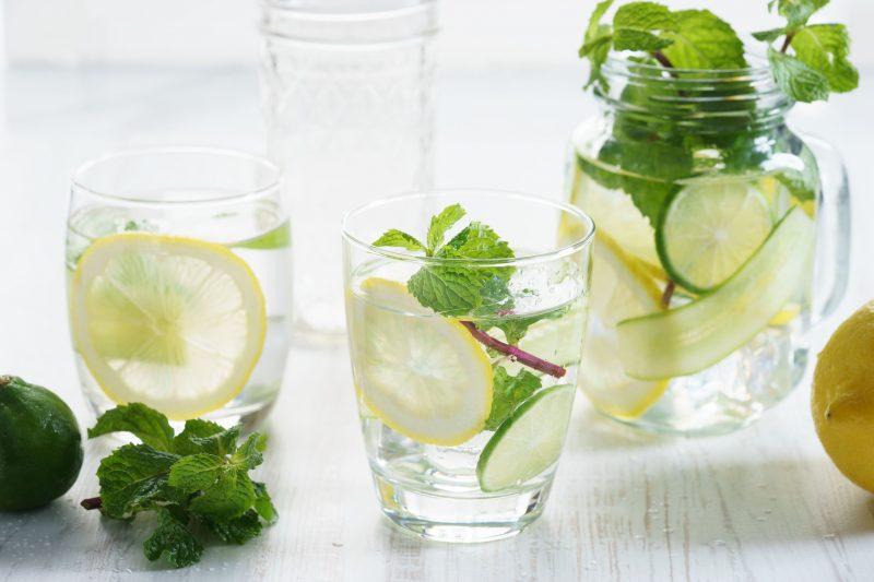 Мохито с лимонадом