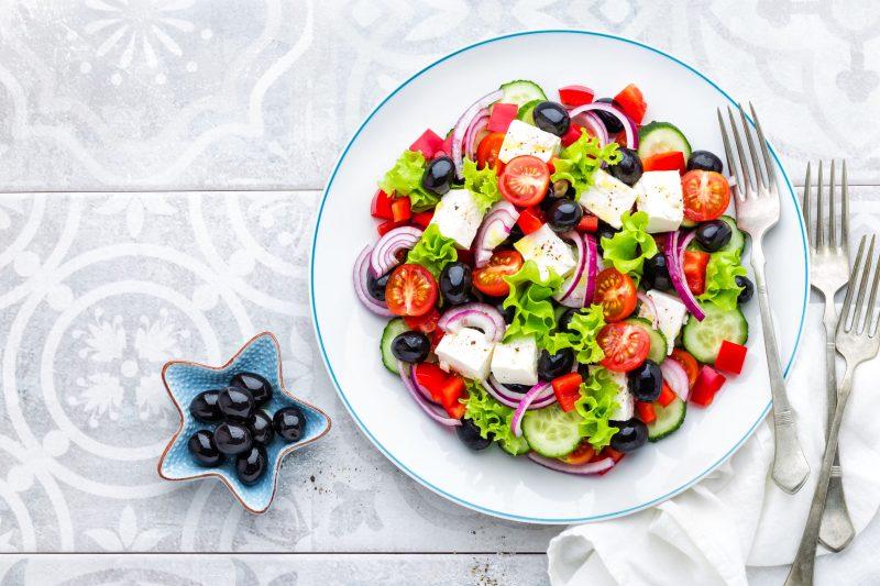 Пошаговый рецепт настоящего греческого салата