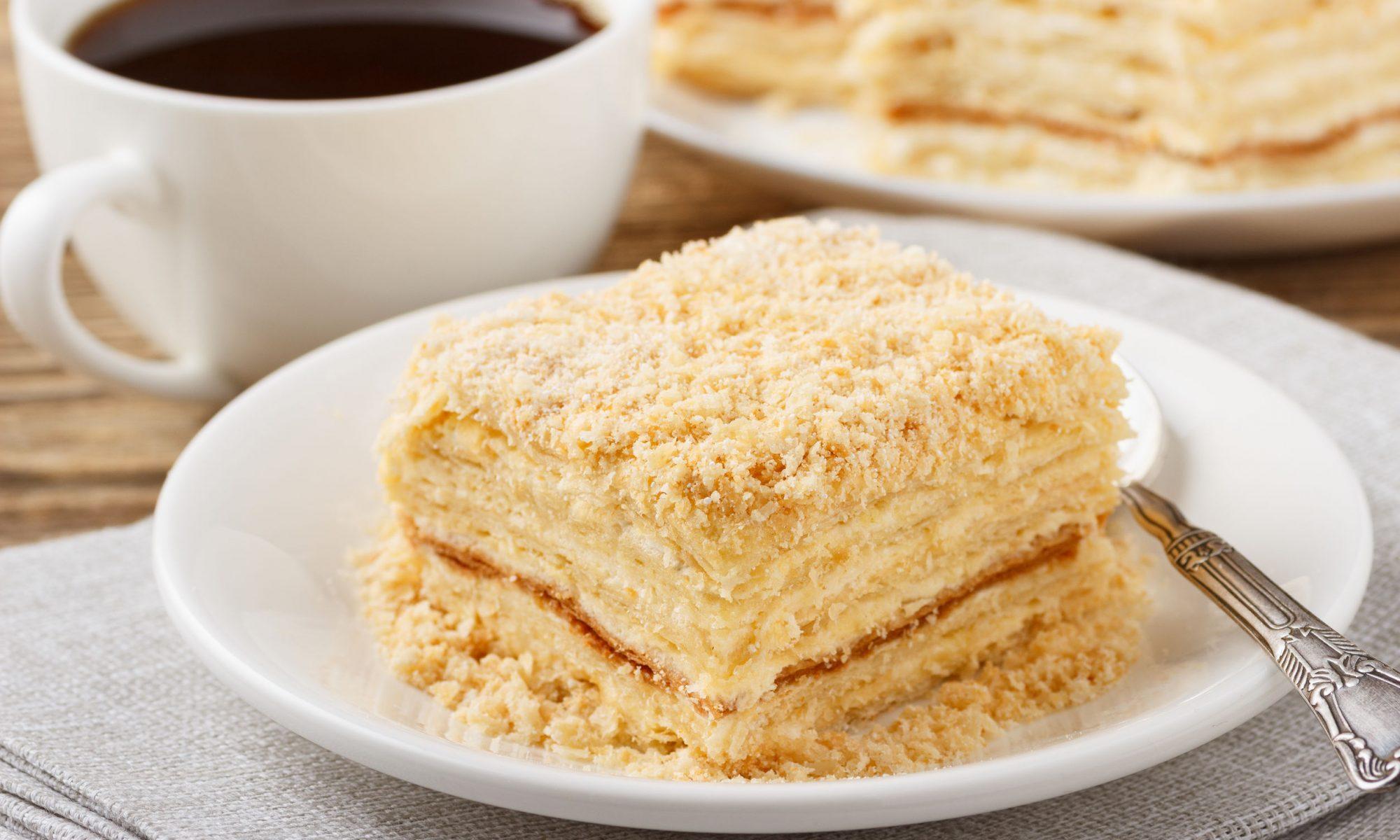 Торт Наполеон: простой и быстрый рецепт