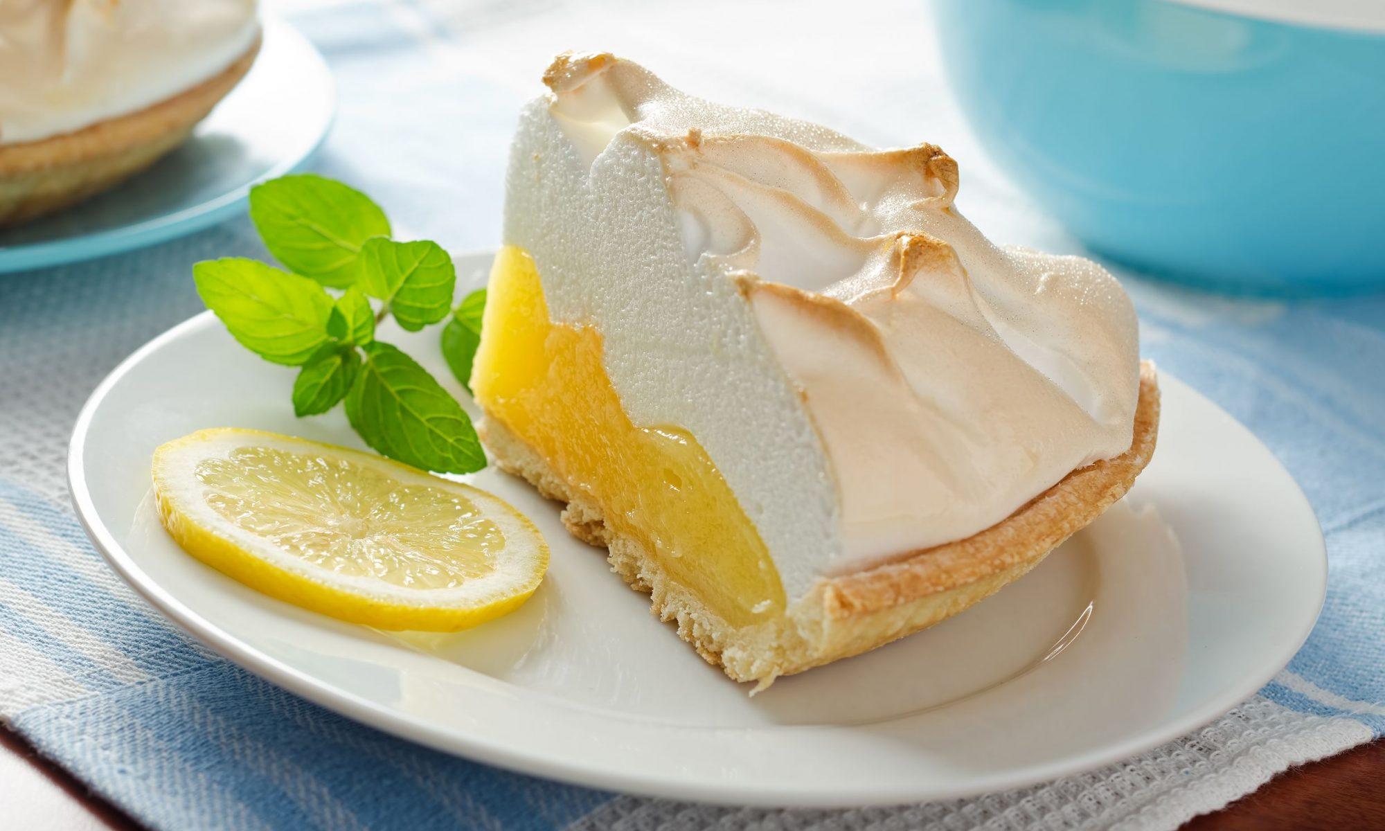 Рецепт очень вкусного лимонного пирога
