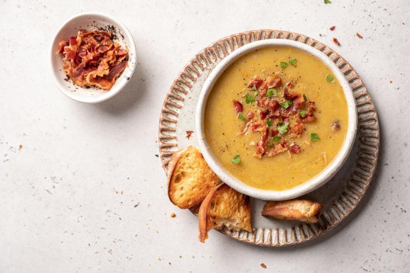 Фасолевый суп с копченостями: самый вкусный рецепт