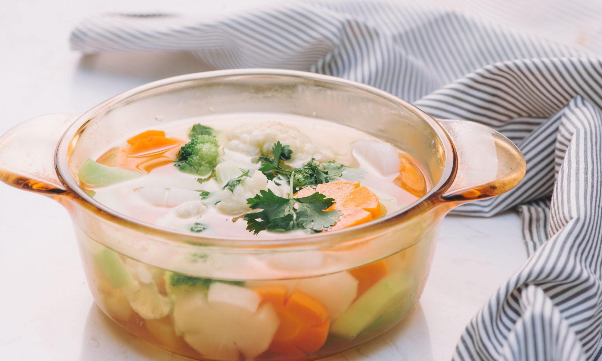 5 диетических супов: рецепты от Шефмаркет