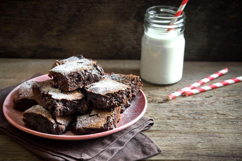 Брауни «Горячий шоколад»