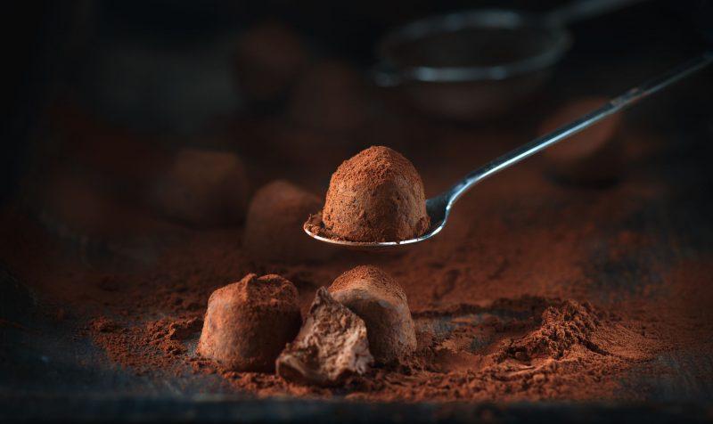 Шоколадные конфеты: рецепт с орешками