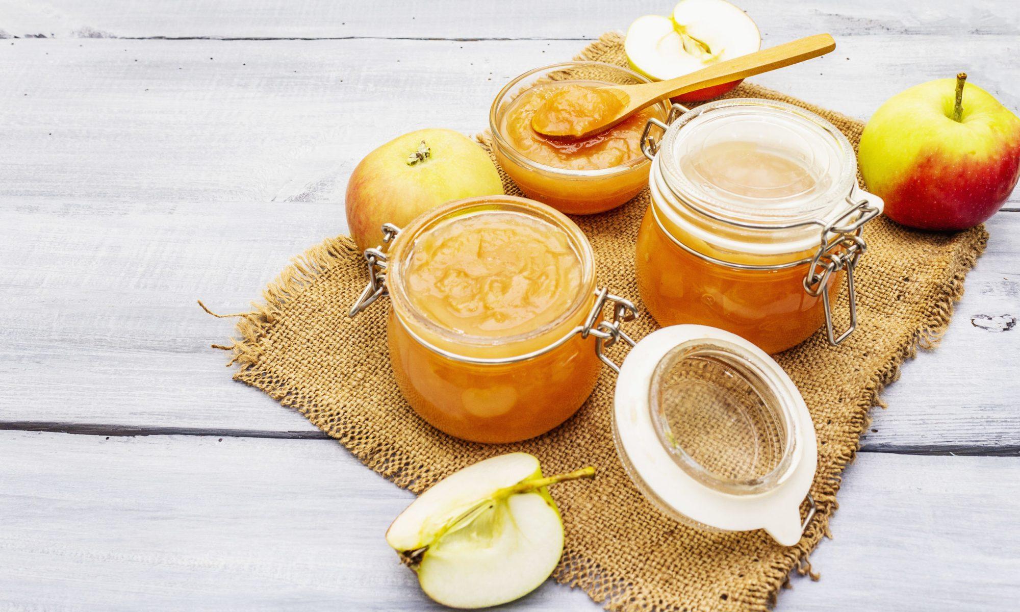 Варенье из яблок и лимона