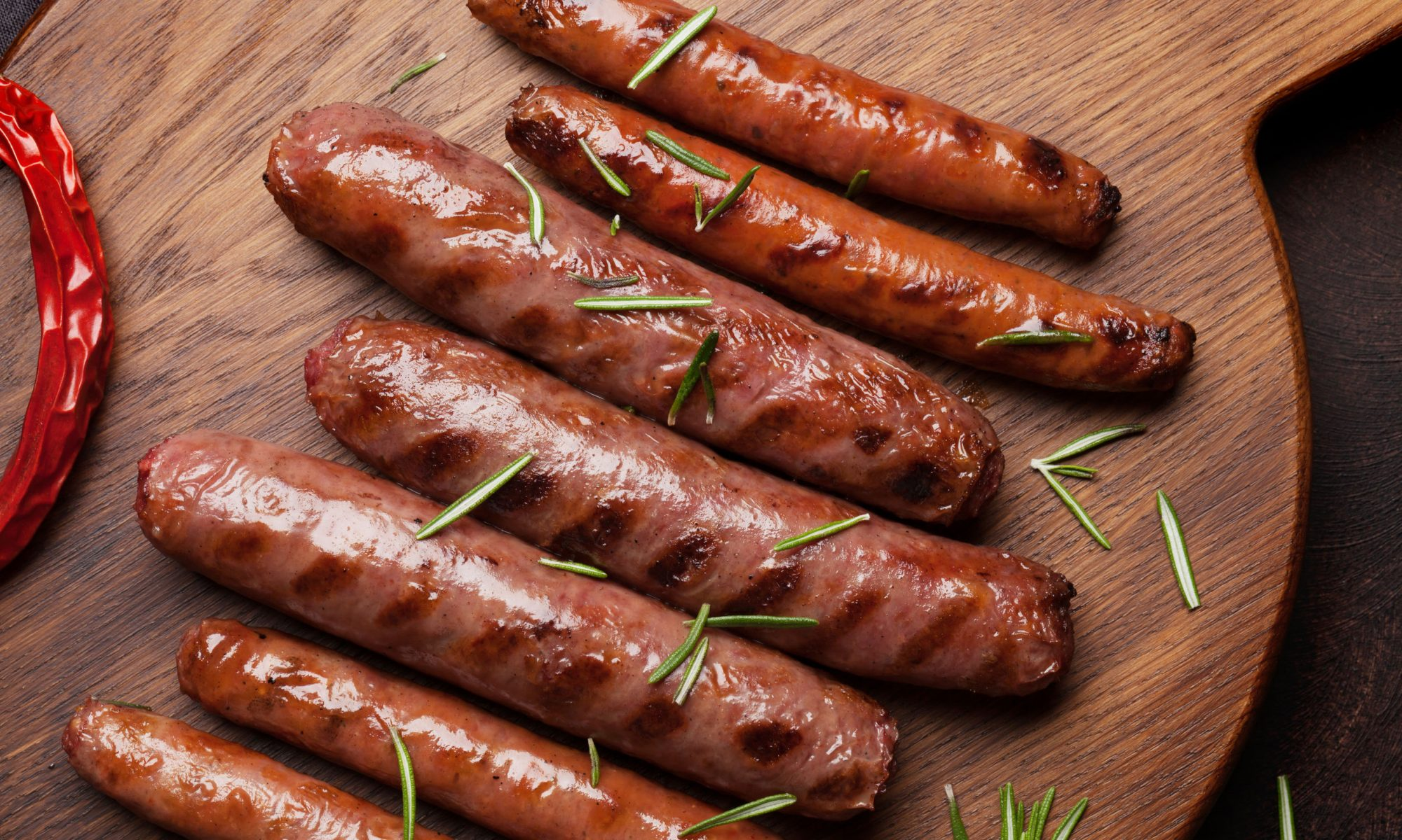 Сочные домашние колбаски