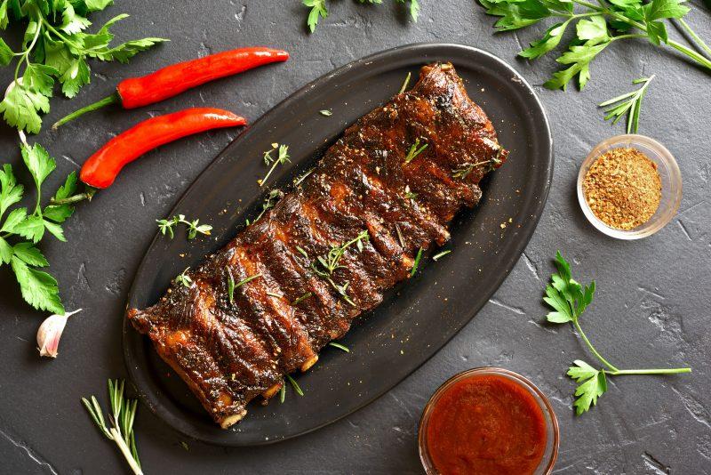 Готовим вкусные говяжьи рёбрышки