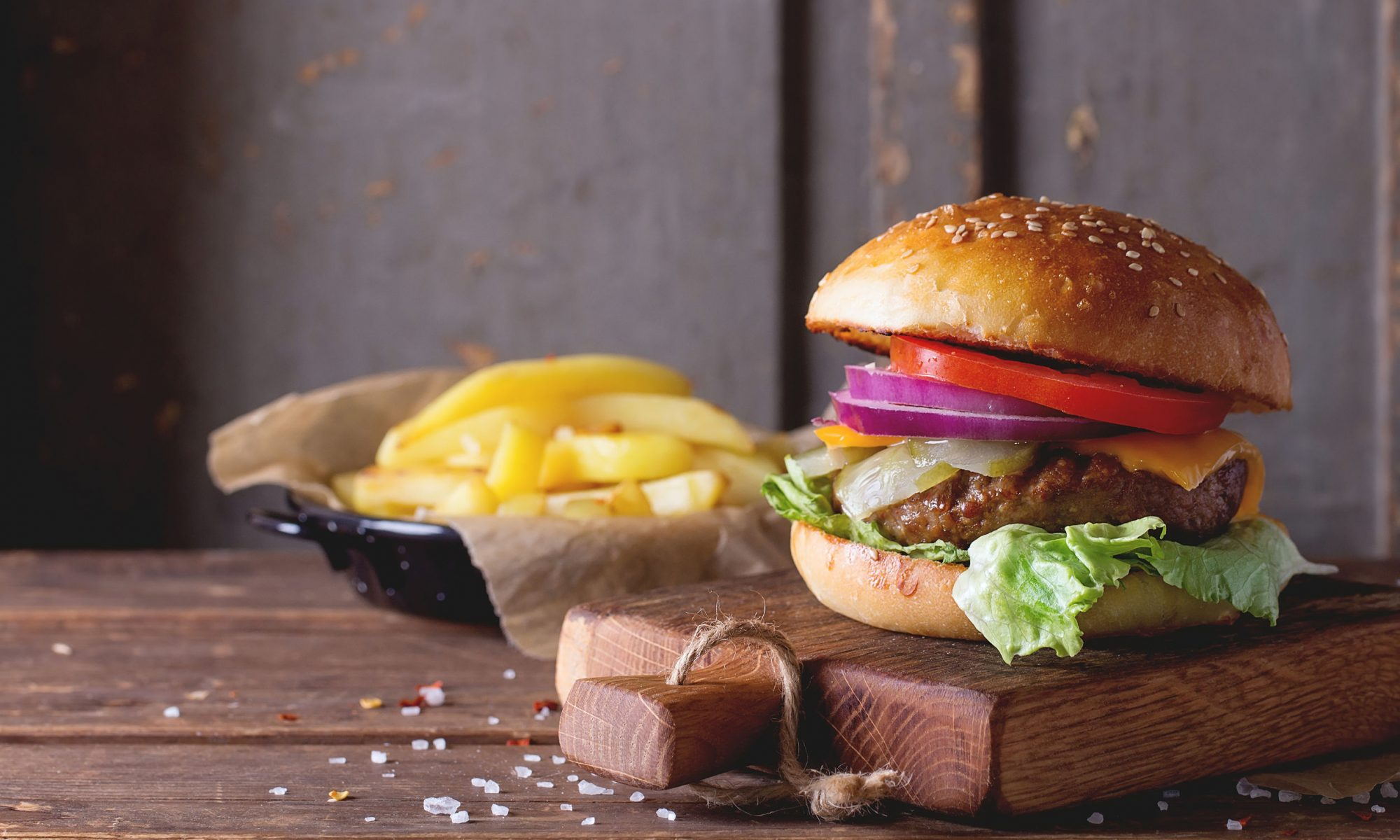 Гамбургер: рецепт, который не принесет вреда