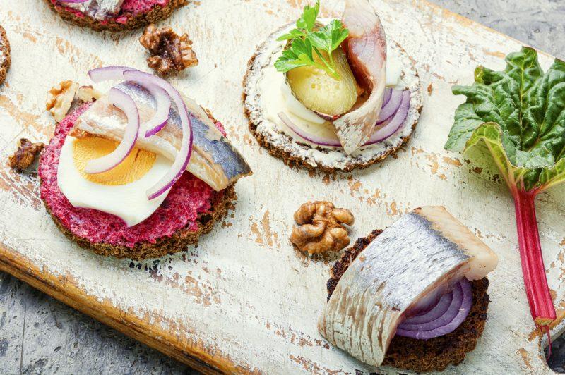 Сморреброды из Копенгагена: готовим закуску дома