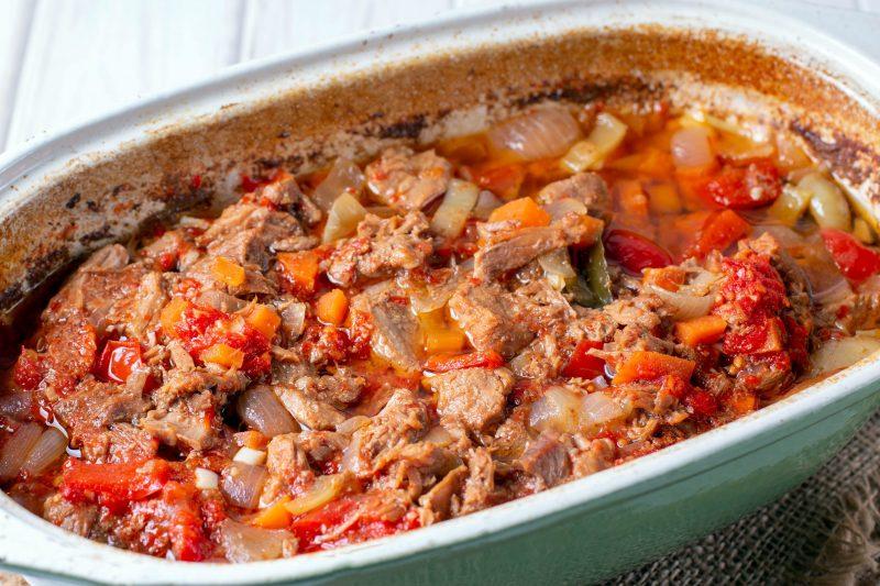 Вкусный рецепт азу из говядины