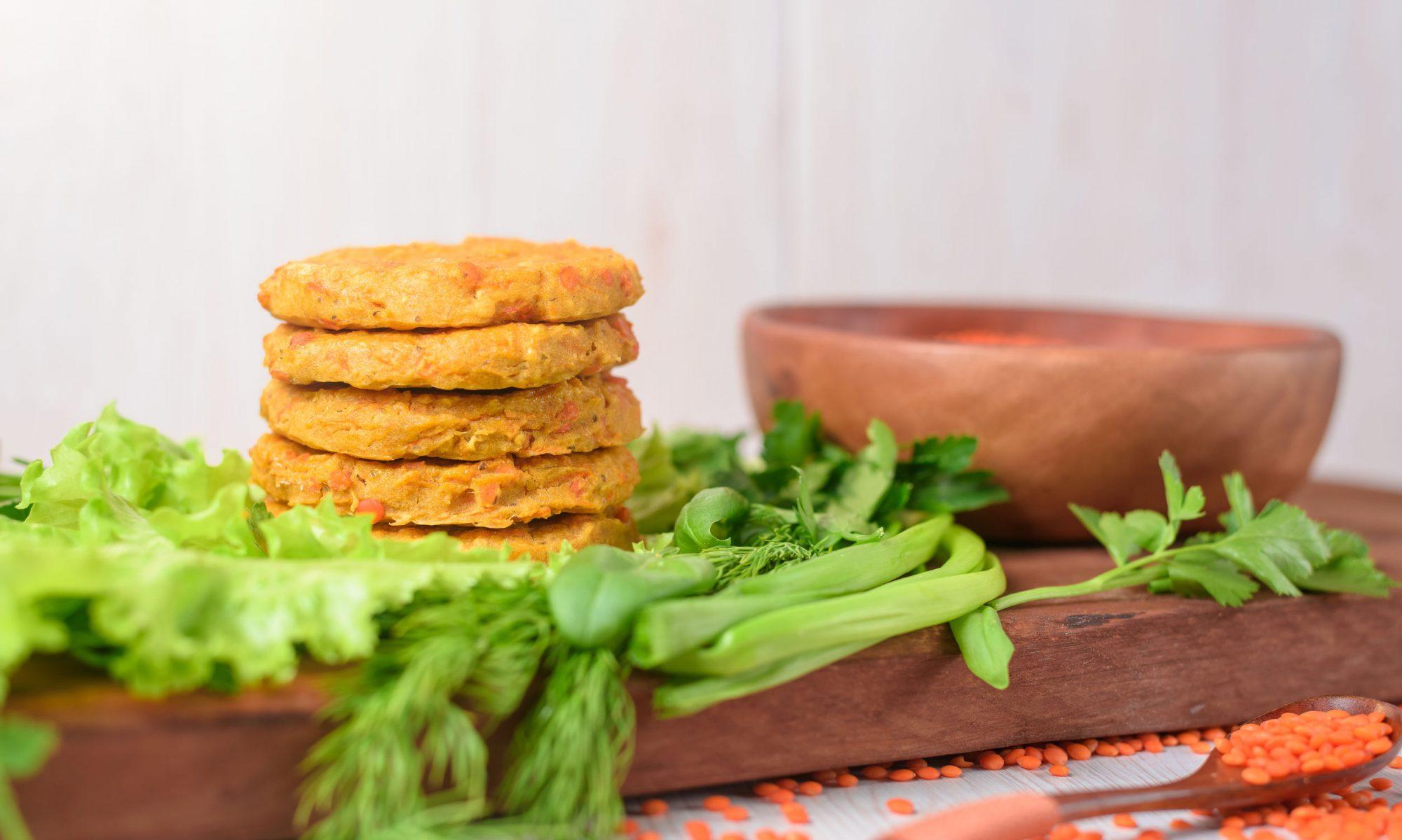 Овощные котлеты: рецепт с морковью