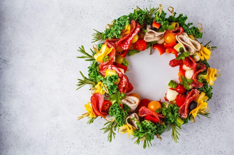 Новогоднее канапе: оригинальные рецепты