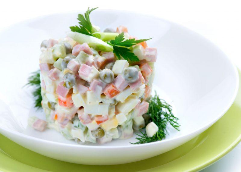 Любимый салат по новому рецепту