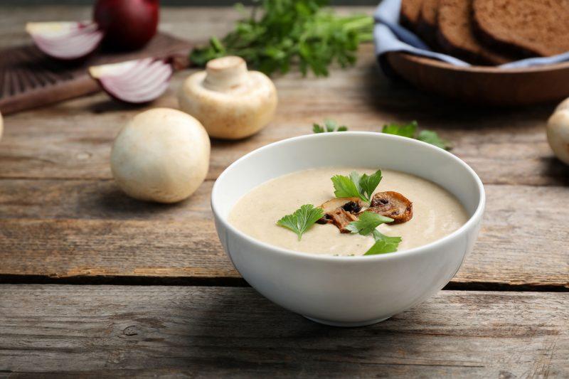 Пошаговое приготовление крем-супа
