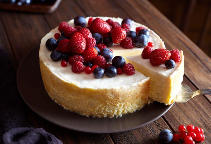 Йогуртовый нежный пирог