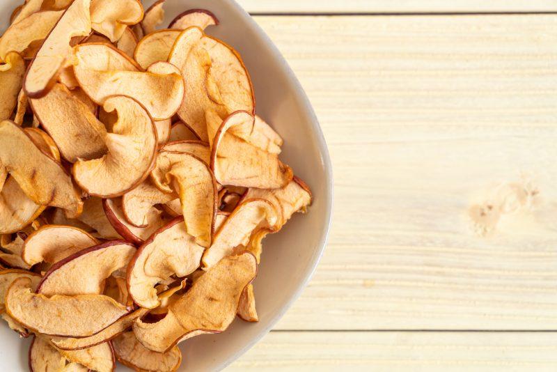 Яблочные чипсы: самый вкусный рецепт