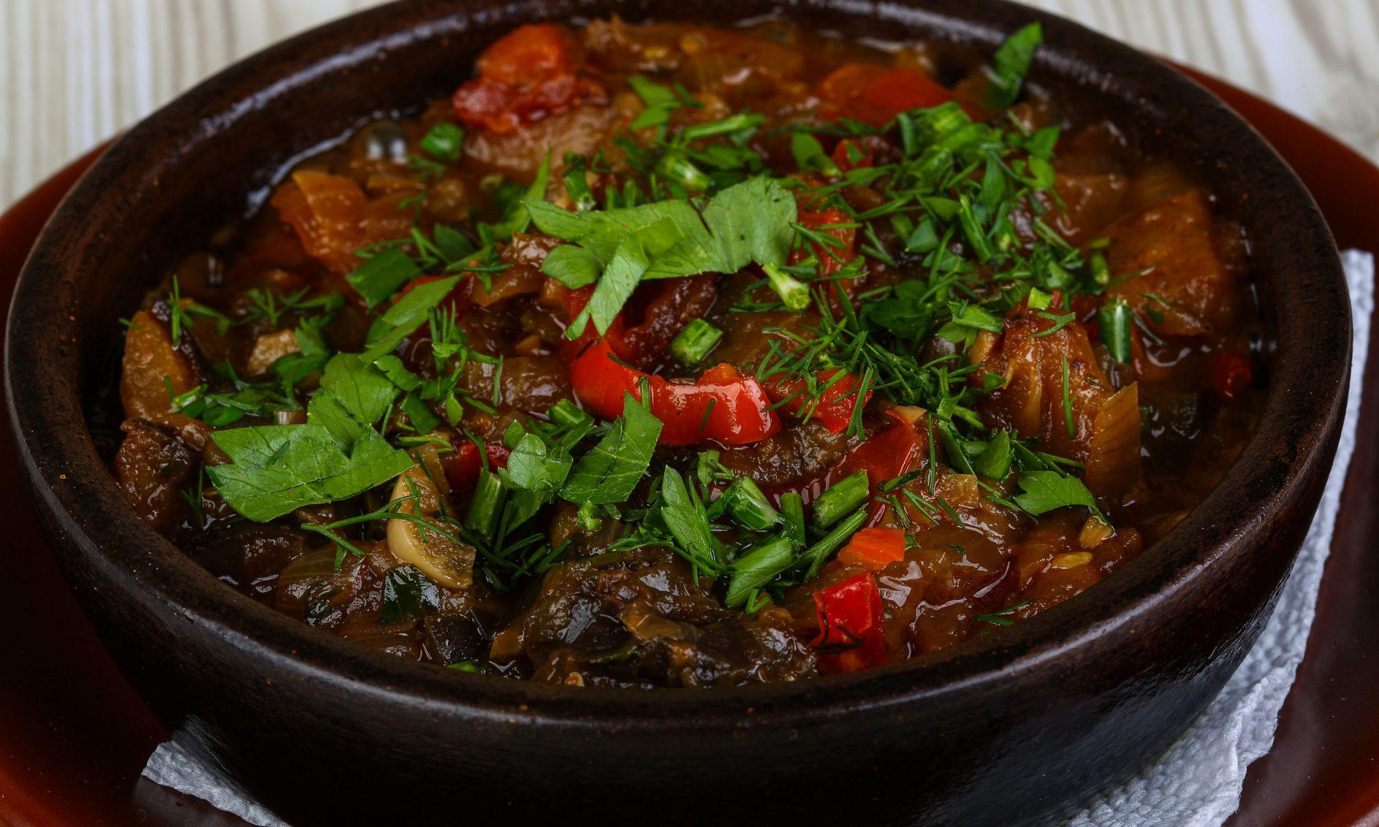 Аджапсандал в духовке: самый вкусный рецепт