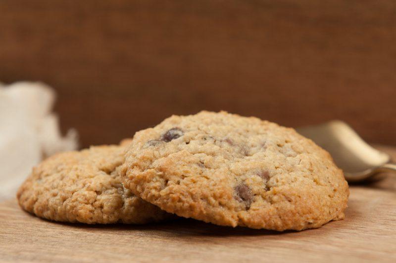 Фруктовое печенье из нута