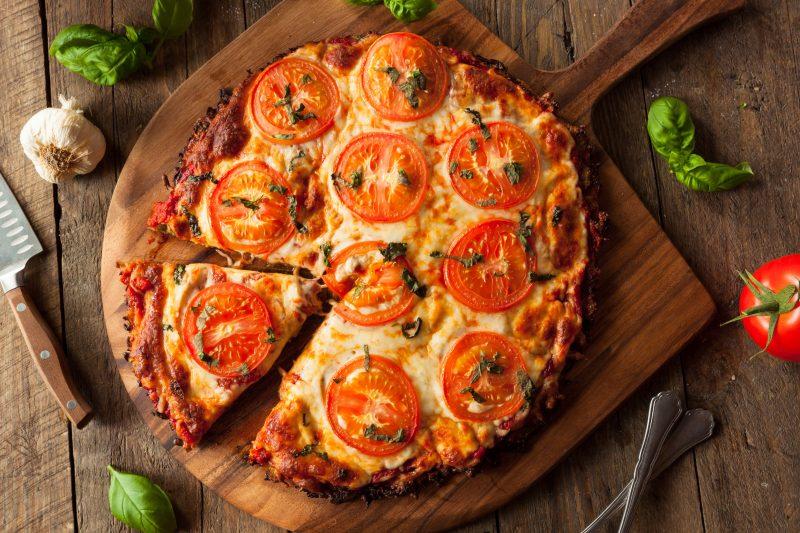 Вкусная домашняя пицца на пышном тесте