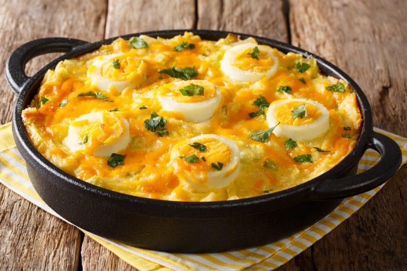 Пироги с яйцом и зеленым луком