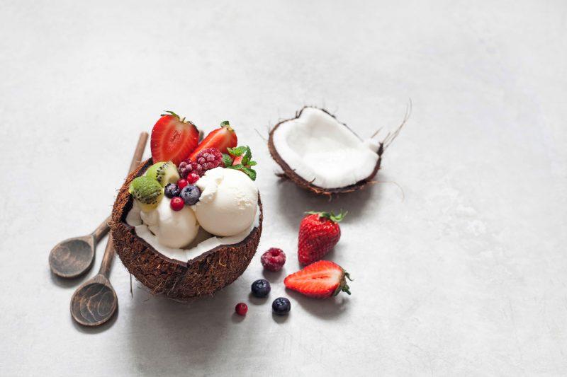 Вкусное кокосовое мороженое в домашних условиях