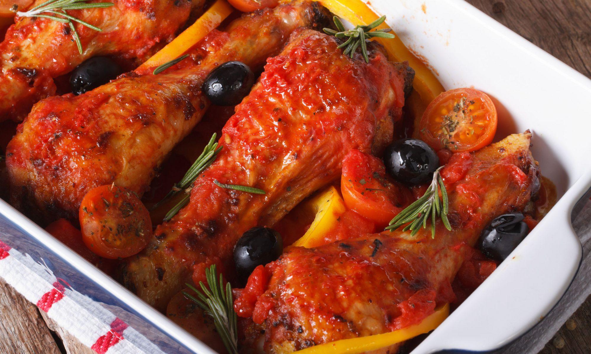 Праздничный рецепт курицы по-провански