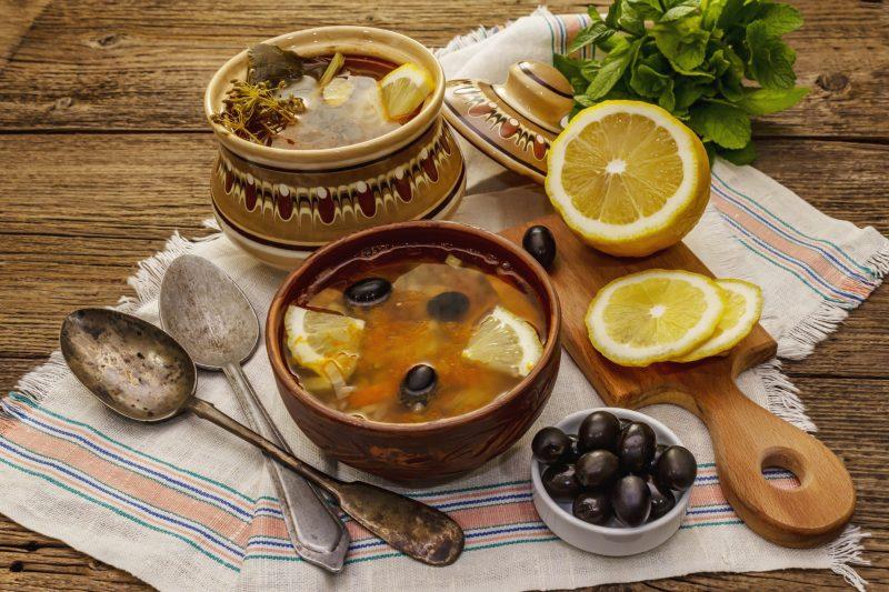 Рецепт солянки по-грузински
