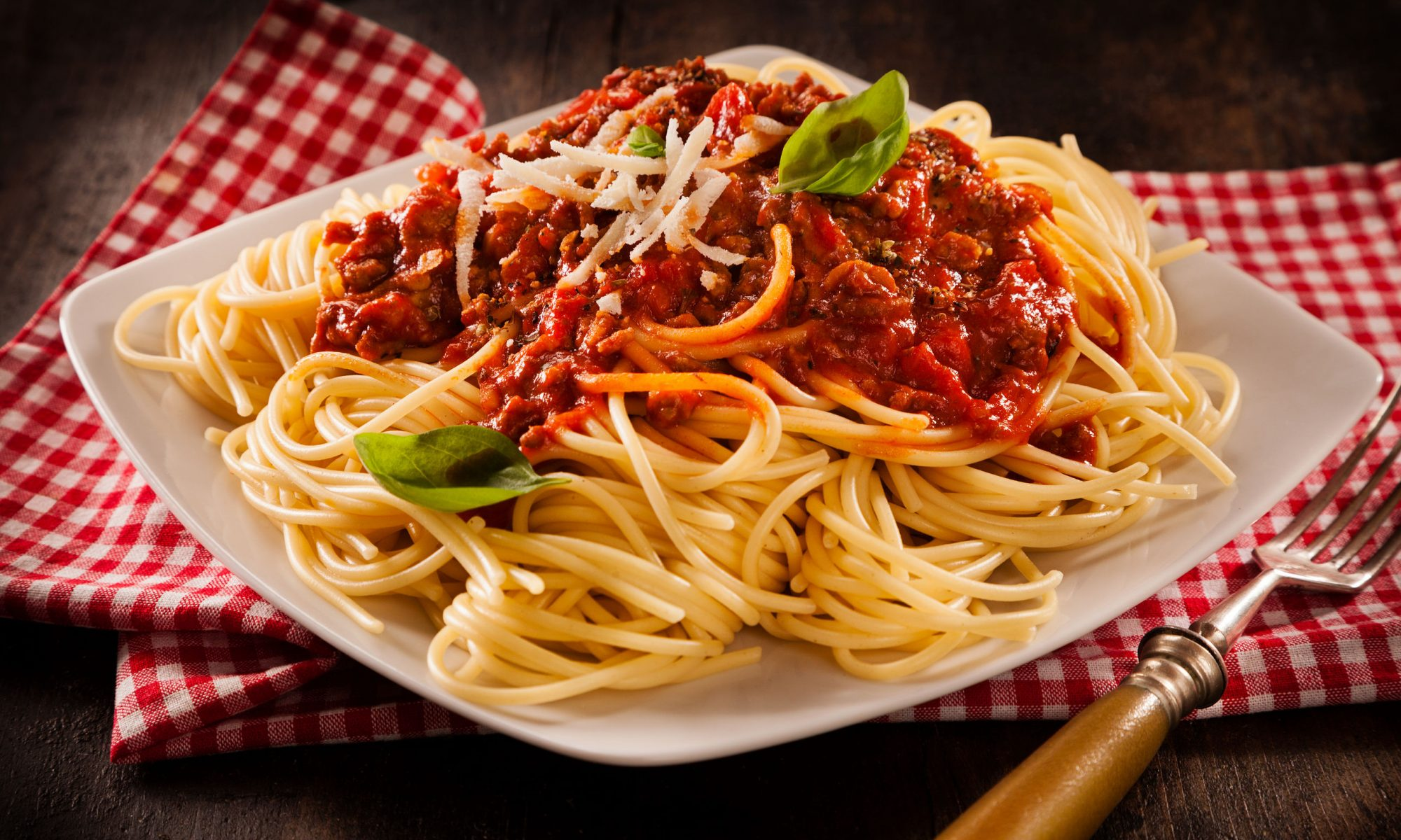 Традиционные спагетти болоньезе
