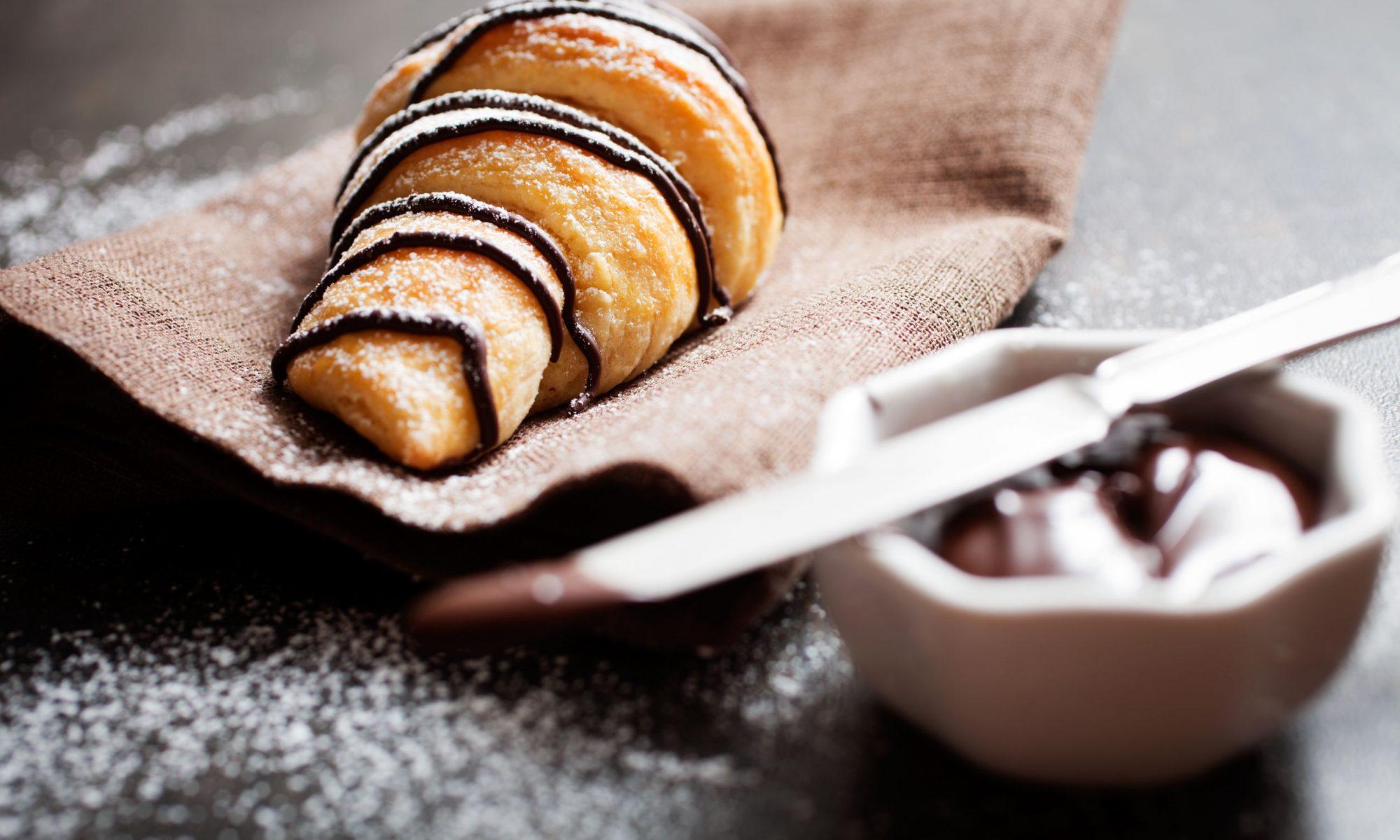 Круассан с шоколадом: рецепты приготовления