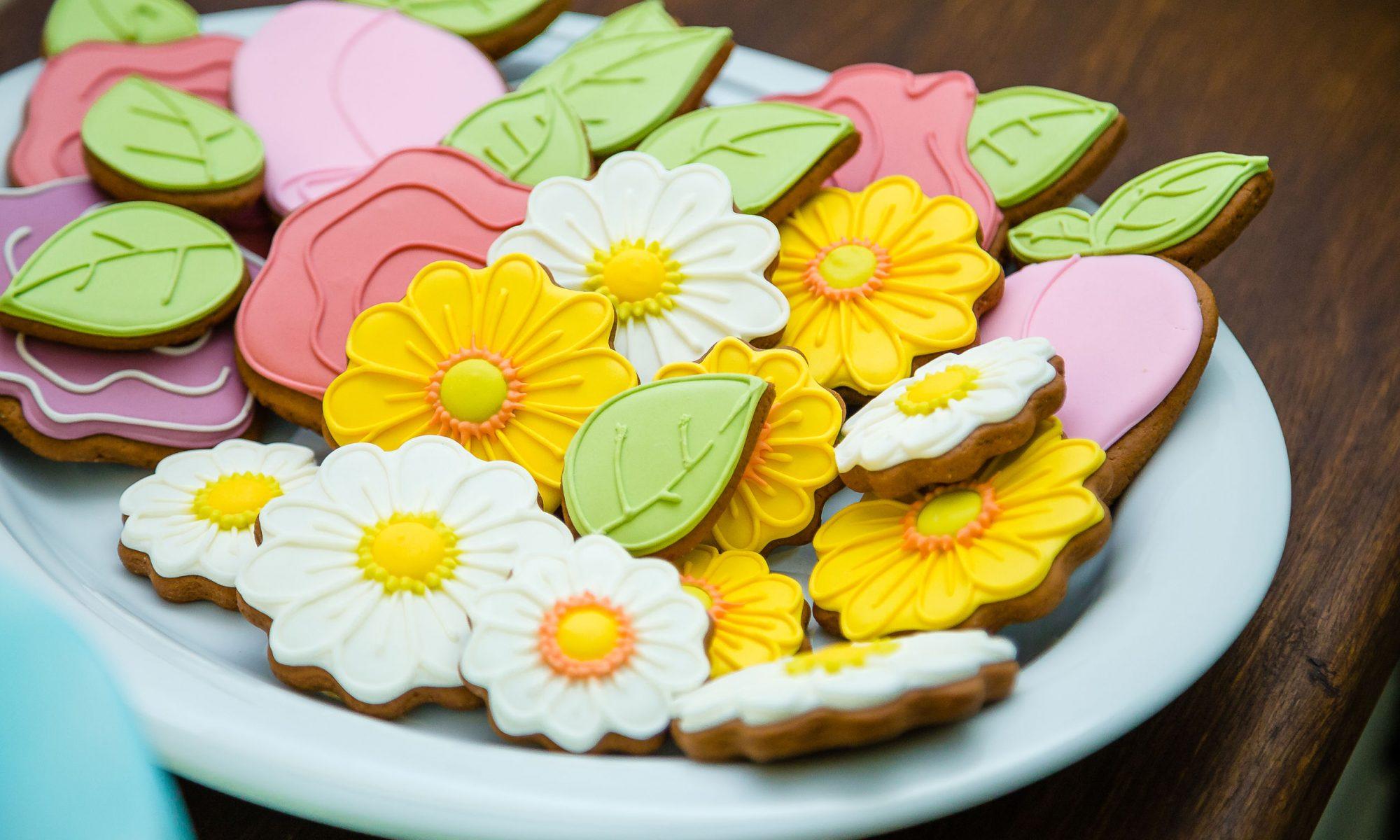 Печенье на 8 Марта