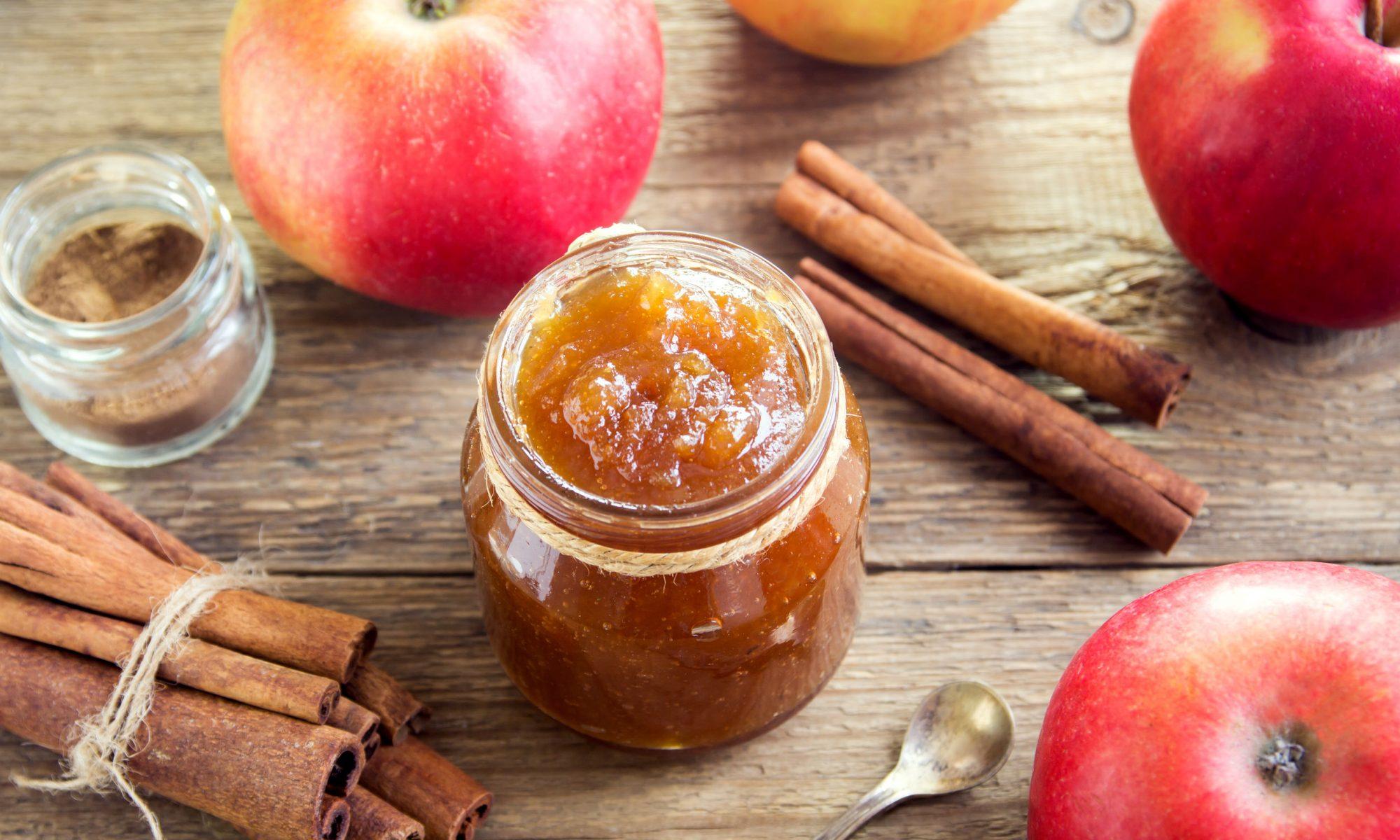 Быстрое варенье из яблок