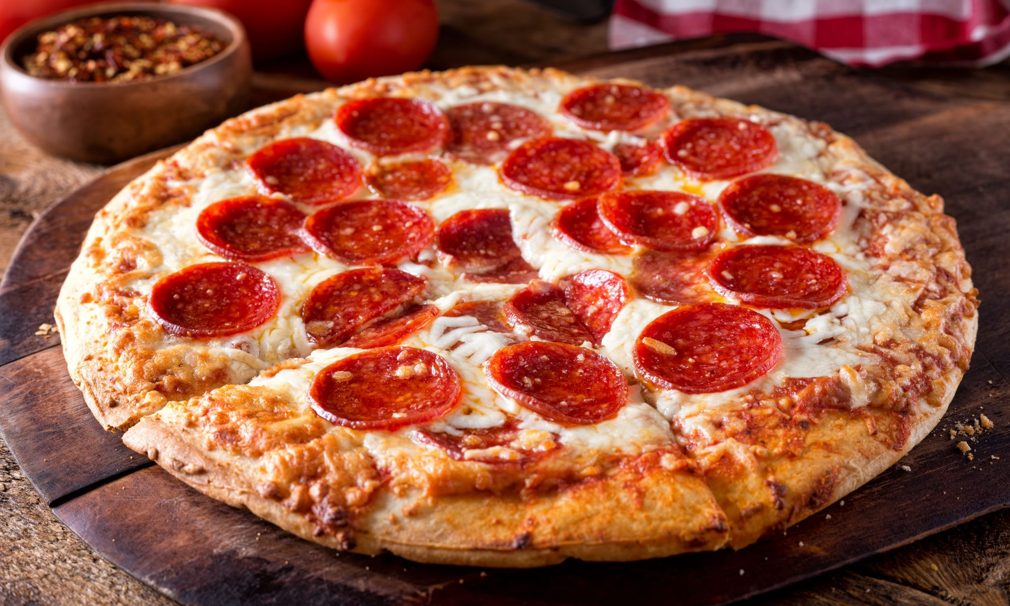 Идеальная пицца в духовке на дрожжевом тесте