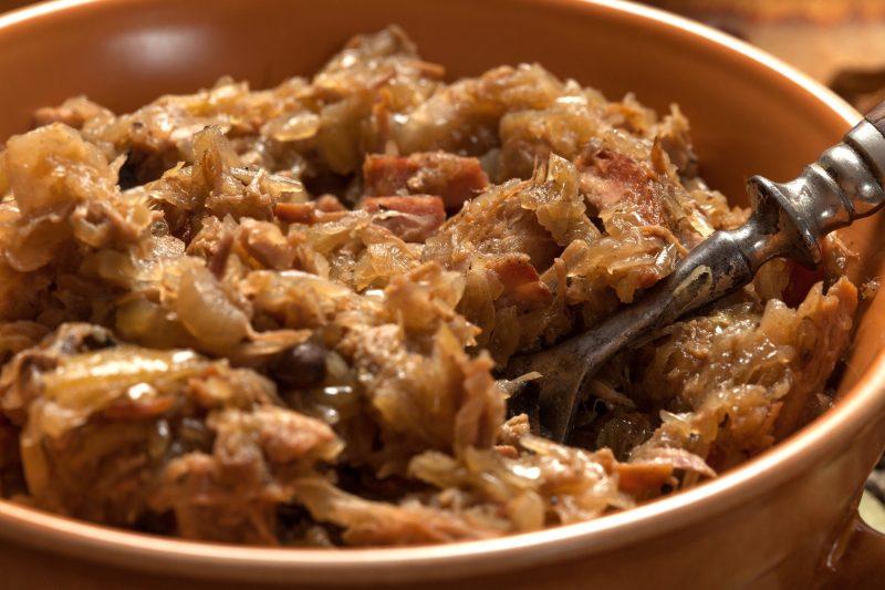 Блюда из капусты и фарша
