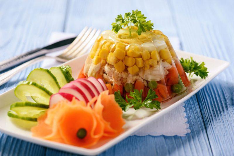 Холодная закуска «Яйца Фаберже»