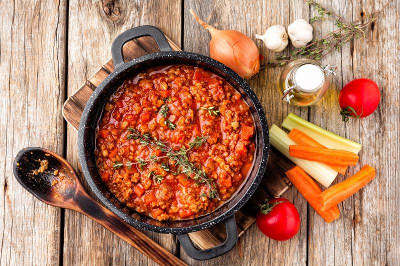 Болоньезе соус: рецепт приготовления