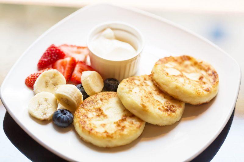 Рецепт сырников с бананом