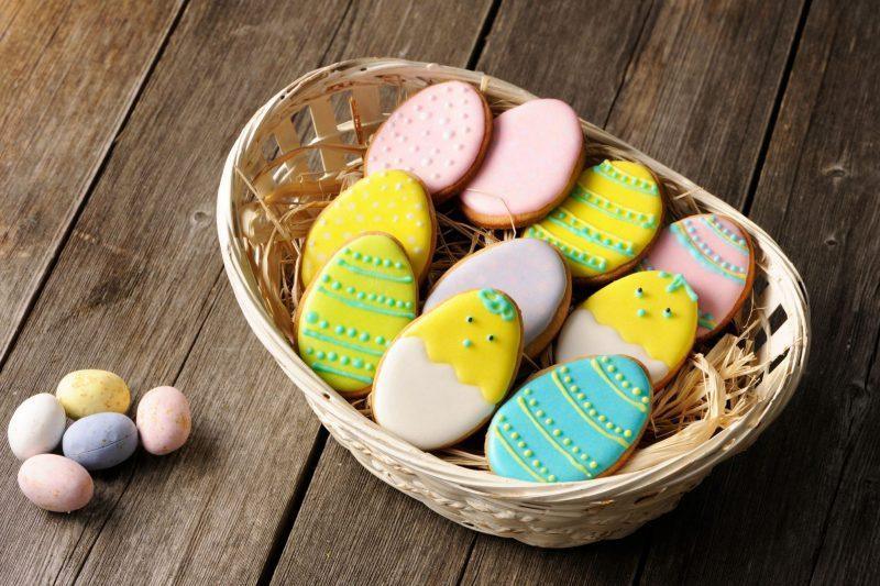 Easter homemade gingerbread
