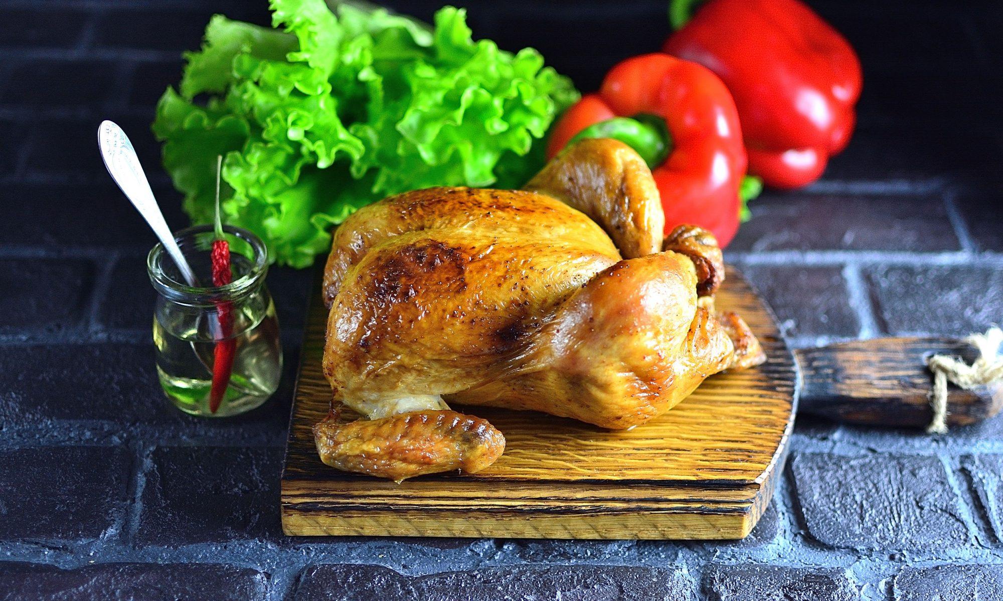Запеченный цыпленок по-французски