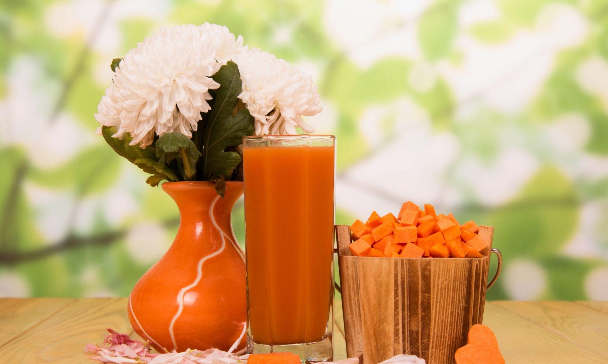 Как приготовить сок из тыквы и апельсина