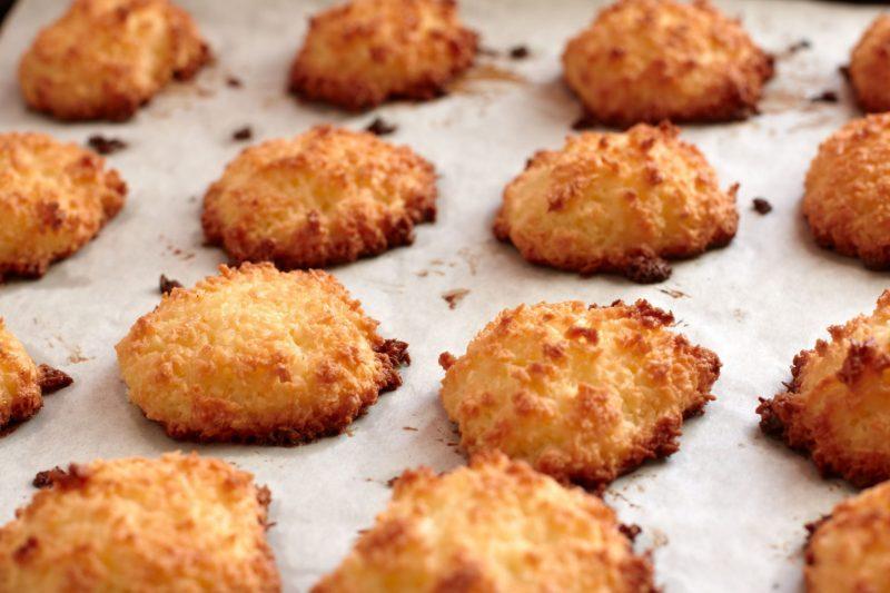 Классический рецепт кокосового печенья