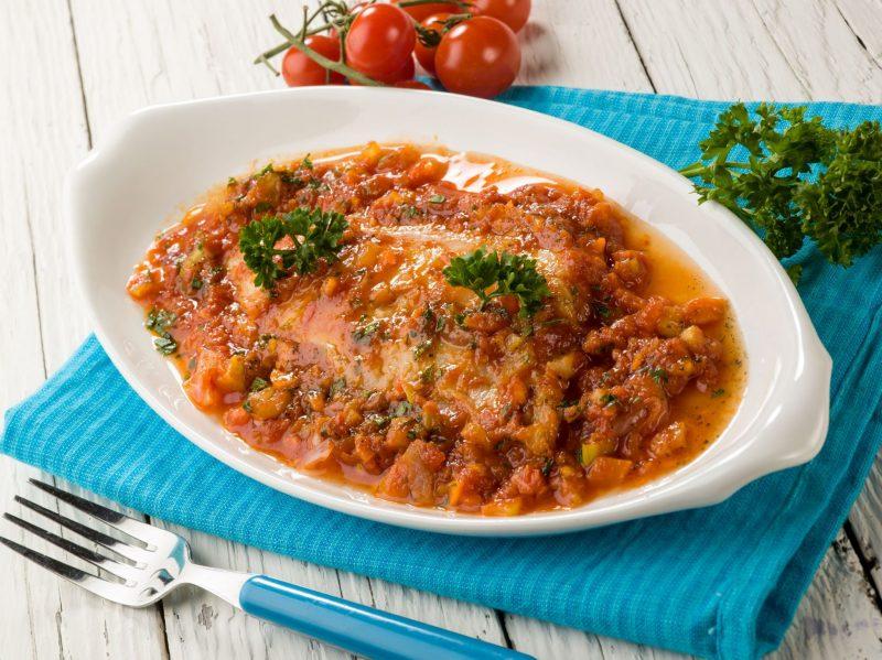 Рыба по-гречески в польской кухне