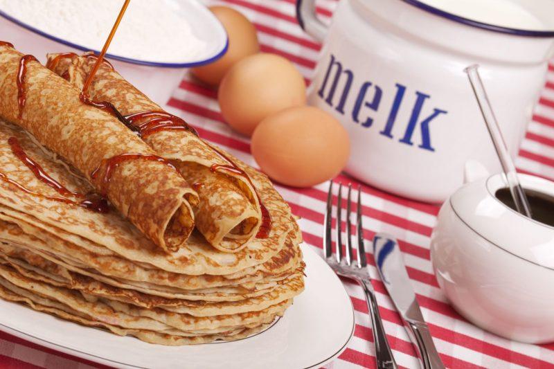 Какие блинчики приготовить на завтрак