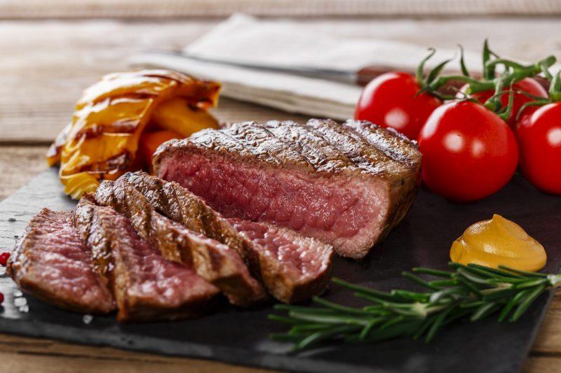 Правильный стейк из вырезки говядины