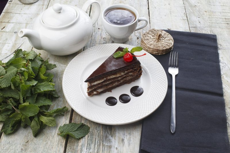 Изысканный торт «Шоколадный пломбир»