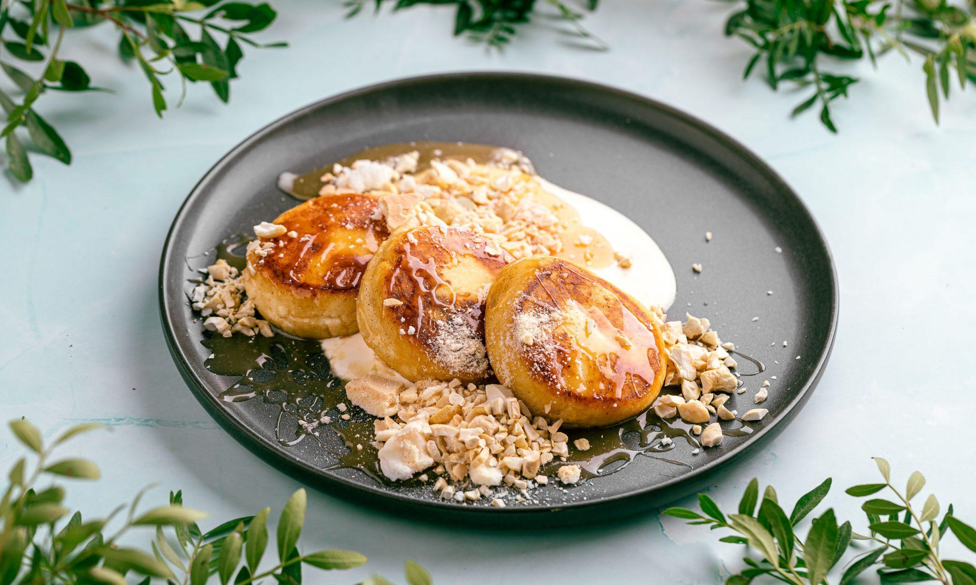 Сырники с начинкой из мака и орехов