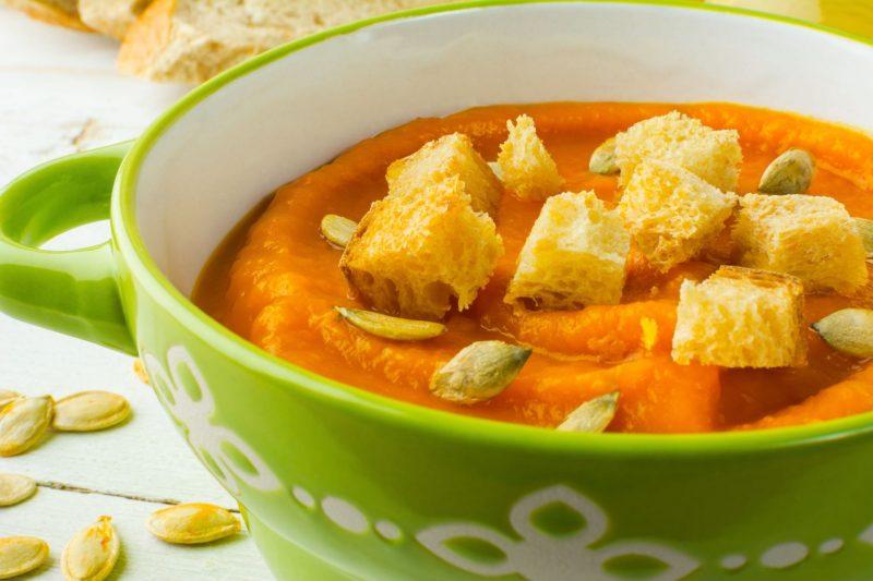 2 вкусных рецепта супов с гренками