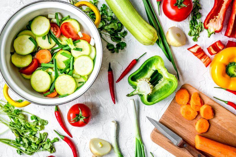 Диетическое овощное рагу